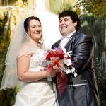 Mariés le 06-09-2014 à Morestel (38).
